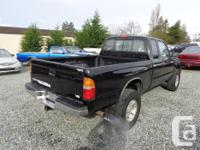 Make Toyota Model Tacoma Xtra Year 1998 Colour black