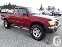 Make Toyota Model Tacoma Year 1998 Colour Red kms