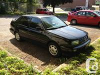1998 Volkswagen Jetta K2 Sedan Black - $800