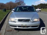 1998 Volvo V70 4 door. 5 Cylinder Non Turbo Automatic