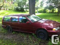 1998 Volvo V70 station wagon.  Automatic, power