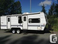 Complete self sufficient Travel Trailer for off the