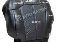 New Drivers side replacement seat cover and cushion.