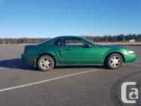 Make Ford Model Mustang Year 1999 Colour green kms