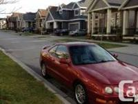 1999 Acura Integra GS Automatic Limited edition cherry