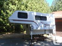 1999 9.5 ft Bigfoot camper with basement. Made for long