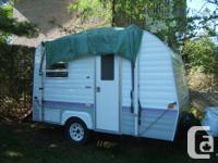 1998 BONAIR - PRESTIGE 16 FT. CAMPER TRAILER SLEEPS 2
