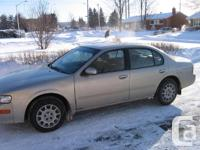1999 Nissan Maxima Excellent Condition, Only 113,000