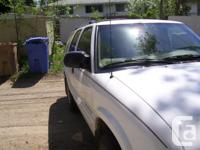 Make Chevrolet Model TrailBlazer Colour White kms