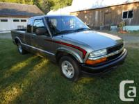 1999 S10 extended cab, 3dr. Gold. Custom paint,