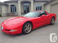 1999 Chevrolet Corvette coupe. This is a rare find C5.