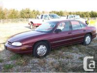 Southampton, ON 1999 Chevrolet Lumina LS Sedan This