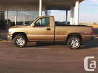 Edmonton, AB 1999 Chevrolet Silverado Pickup Truck This