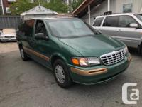 Make Chevrolet Model Venture Year 1999 Colour GREEN