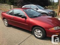 Make Chevrolet Model Cavalier Year 1999 Colour