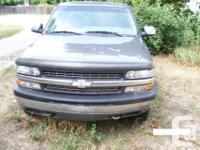 Make Chevrolet Colour grey 1999 chev half ton extended