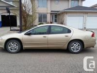 Make Chrysler Model Intrepid Year 1999 Colour Gold kms