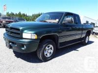 Make Dodge Model Ram 1500 Year 1999 Colour green kms