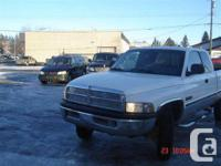 This Ram 2500 is a heavy duty pickup truck thats