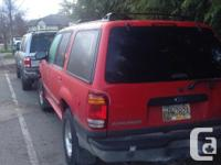 Make Ford Model Explorer Year 1999 Colour Red Trans