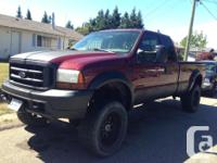 Make Ford Model F-250 Super Duty Year 1999 Colour red