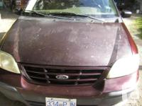 Make Ford Colour burgandy Trans Automatic 1999 windstar