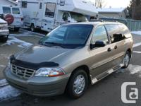 1999 FORD WINDSTAR 3.8 L TAN COLOR GARAGE KEPT, VERY