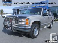 1999 GMC Yukon Extremely Low KM - Full Load - Local - 1