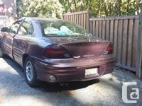 Make Pontiac Model Grand AM Year 1999 Colour Bronze