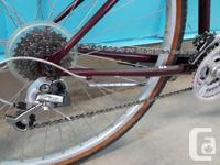"""16"""" chromoly frame, 700c wheels Barely ridden, like new"""