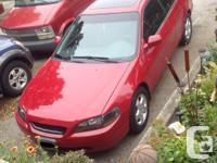 Make. Honda. Model. Accord Coupe. Year. 1999. Colour.