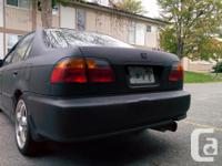 Make Honda Model Civic Sedan Year 1999 Colour Matte