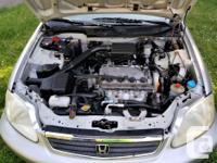 Make Honda Model Civic Sedan Year 1999 Colour Silver
