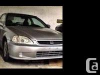 Make Honda Model Civic Year 1999 Colour Silver kms