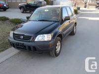 Selling a 1999 Honda CR-V. 164354 KM. 3700 or best