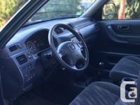 Make Honda Model CR-V Year 1999 Colour GREEN kms