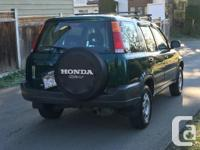 Make Honda Model CR-V Year 1999 Colour GREEN kms