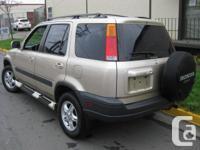 Make Honda Model CR-V Year 1999 Colour GOLD kms 199123