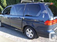 1999 Honda Odyssey ,PASSANGER SEATHAS BEEN REMOVED ALL