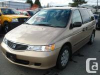 Year:1999 Make:Honda Model:Odyssey Trim:LX