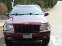 Make Jeep Model Grand Cherokee Year 1999 Colour Wine