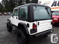 Make Jeep Model TJ Year 1999 Colour white kms 329863