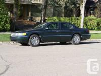 Up for sale is my 1999 Lincoln Continental sedan.