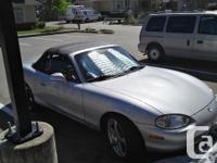 Make Mazda Model MX-5 Miata Year 1999 Colour Silver
