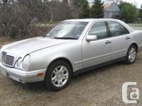 1999 Mercedes Benz E320 4MATIC Sedan         I am