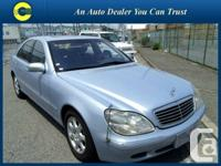1999 Mercedes-Benz S-Class S500 FULLY LOADED JUST 67K'S