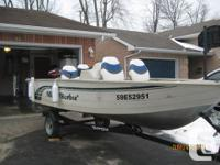SOLD IN two DAYS! 1999 Misty Harbor 14.5' side console