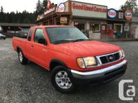 Make Nissan Model Frontier Year 1999 Colour Red kms