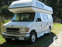 Okanagan camper van, bathroom ,fridge ,stove, overhead