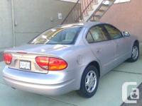 99 Alero Gl, local, Vancouver car, one senior owner,
